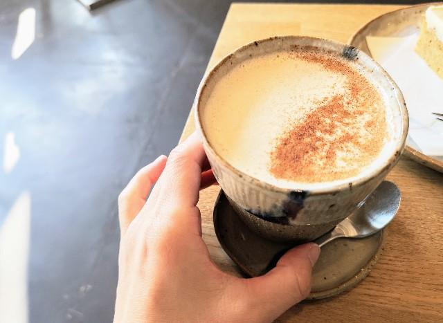 奈良県・奈良市カフェ「ANY B&B + COFFEE」チャイラテ2