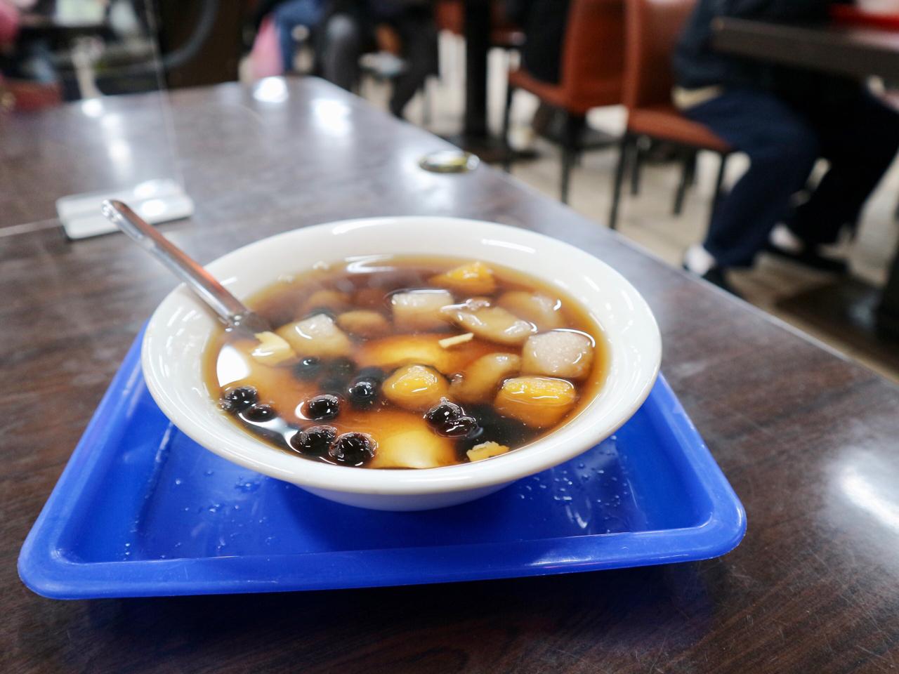 九份芋圓+豆花