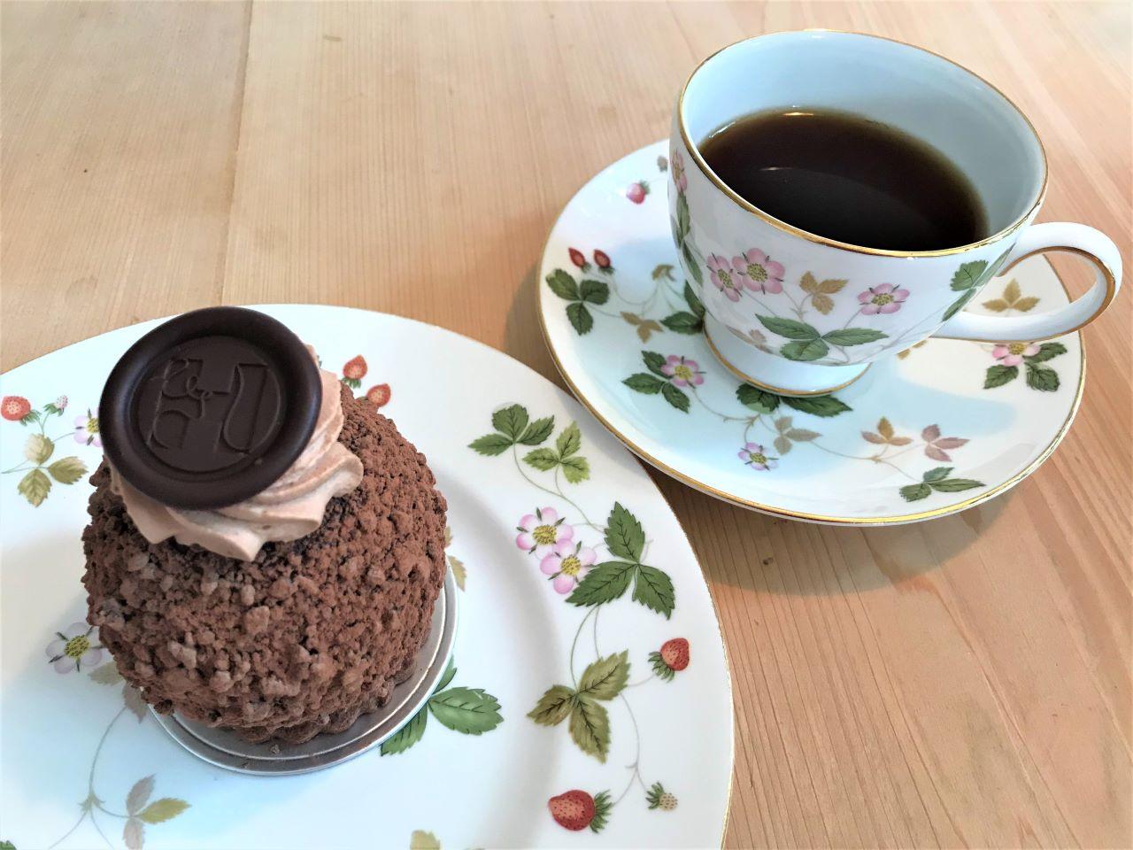 スイーツとコーヒー