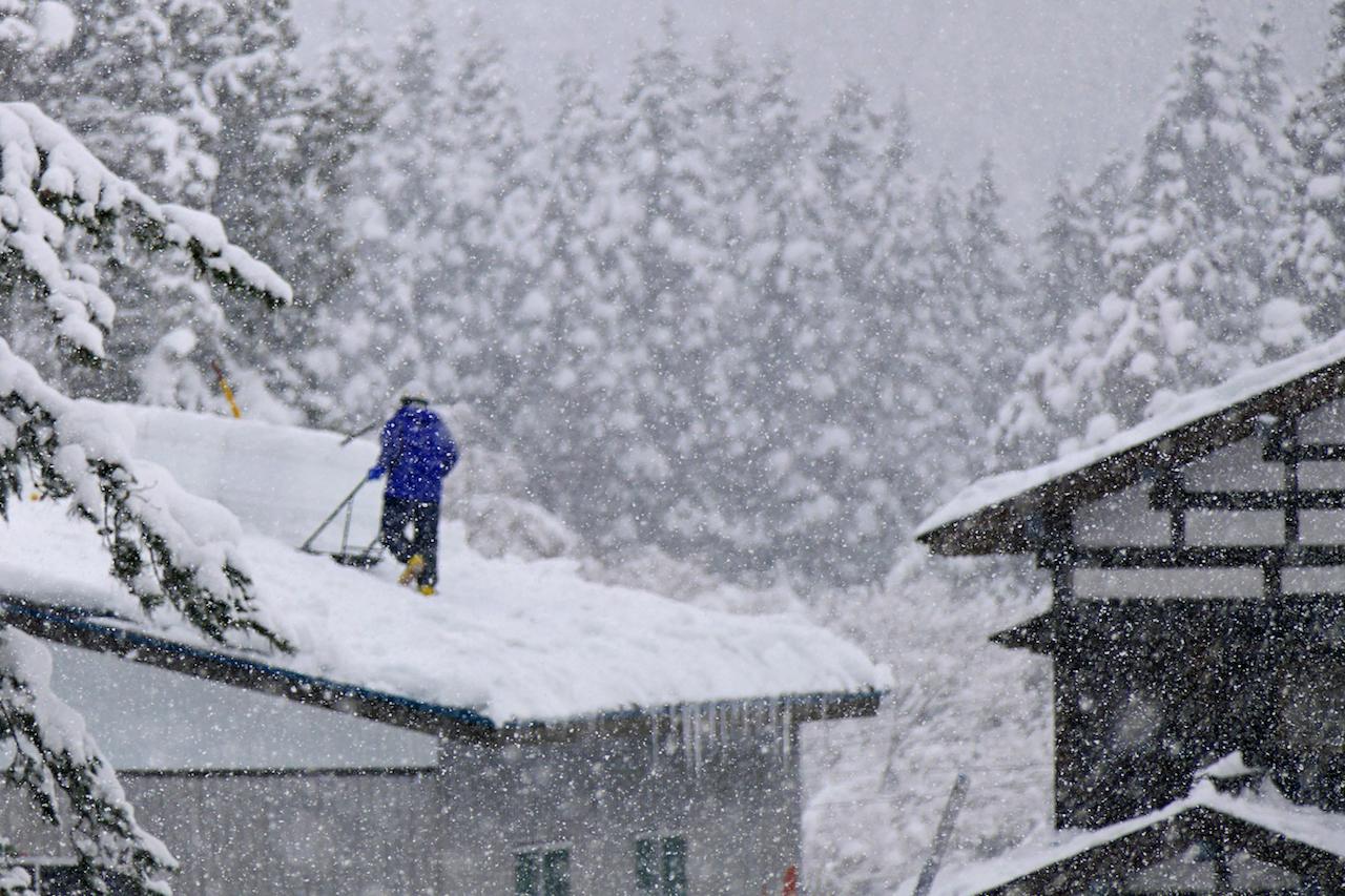 冬の秋田県