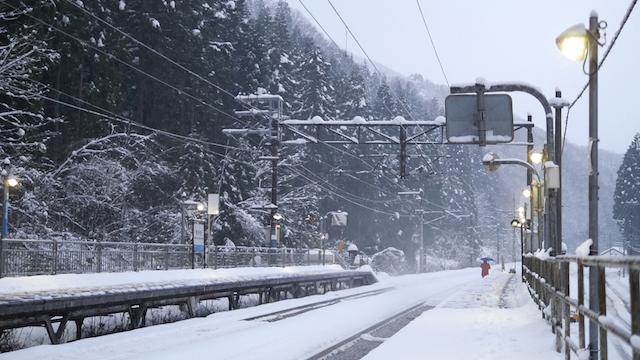 福井の冬の景色