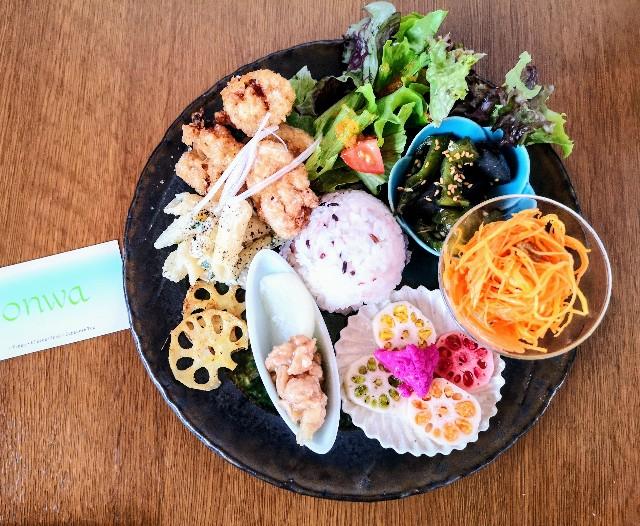 奈良県奈良市・カフェ「onwa」ビーガンディライト