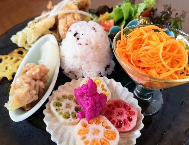 奈良県奈良市・カフェ「onwa」ビーガンディライト2