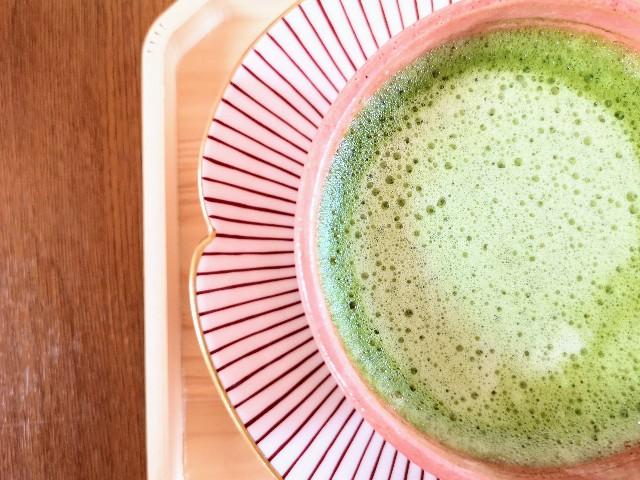 奈良県奈良市・カフェ「onwa」抹茶チーノ