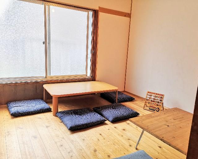 奈良県奈良市・カフェ「onwa」2階