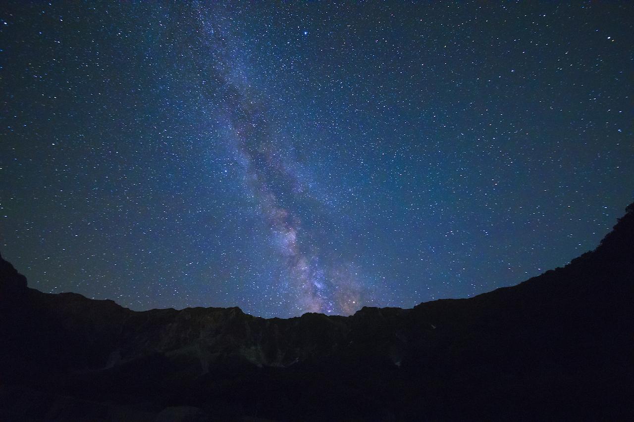 鳥取大山の星空