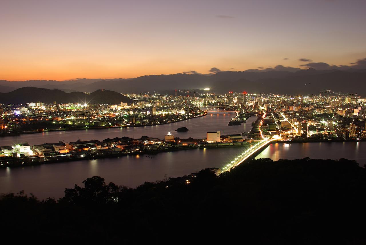 高知県五台山展望台<高知県>
