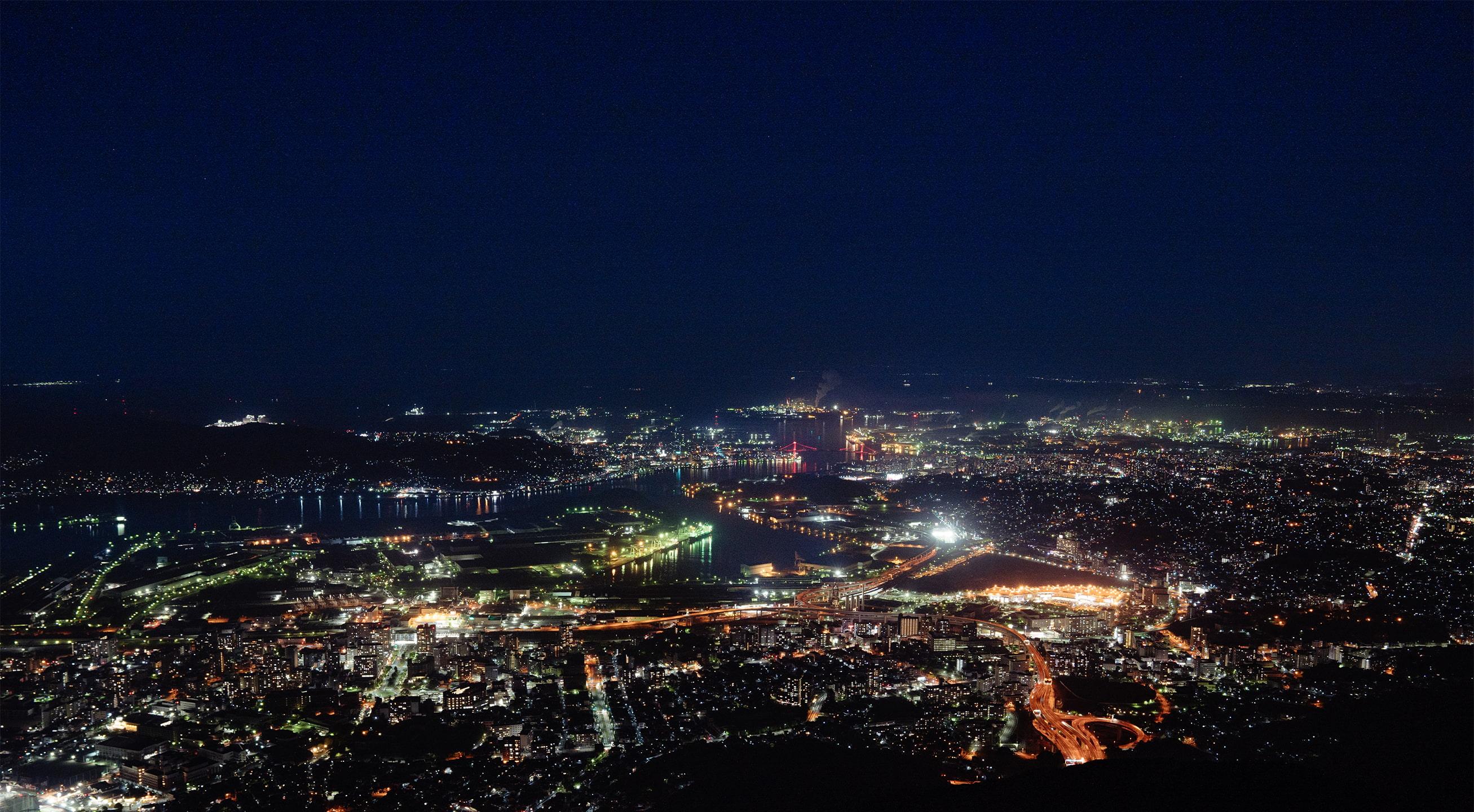 皿倉山<福岡県北九州市>
