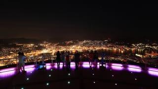 稲佐山からの夜景<長崎県長崎市>