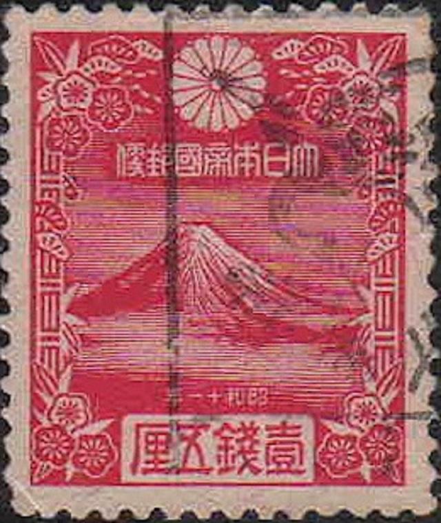 日本初の年賀切手