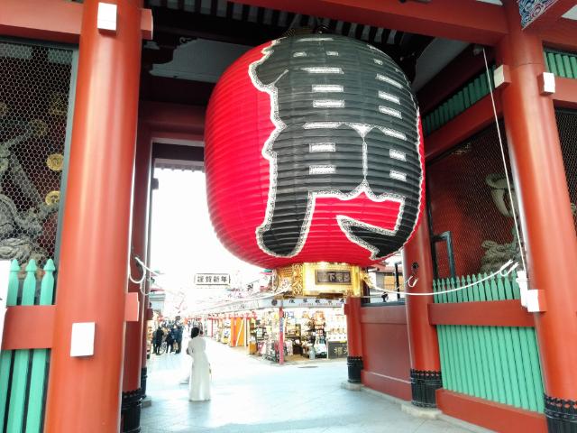 東京さんぽ浅草雷門