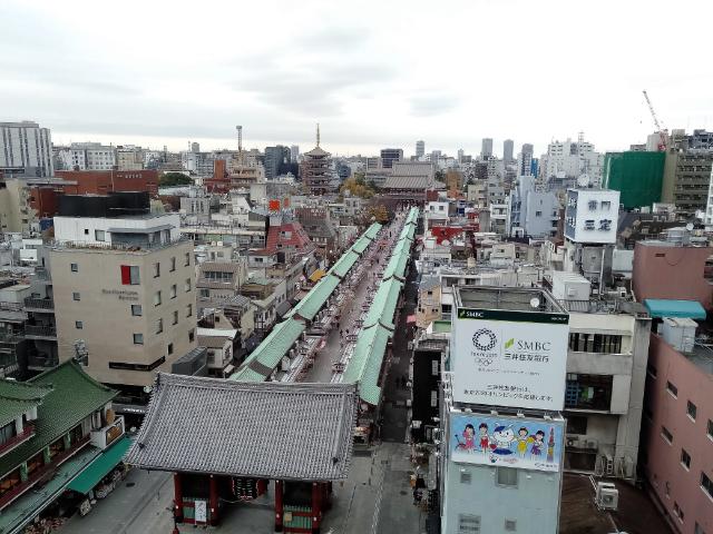 東京さんぽ浅草文化観光センター