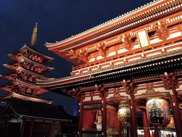 東京さんぽ浅草寺