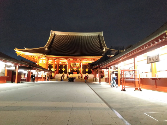 東京さんぽ浅草寺4
