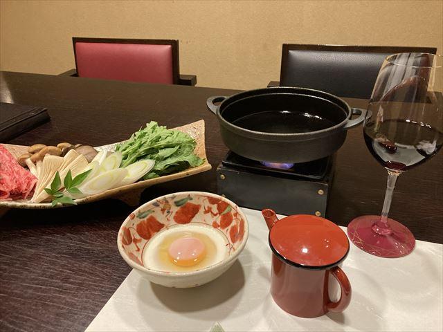 ワインすき鍋