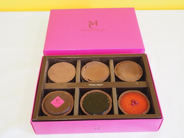 ムッシュショコラ 6種