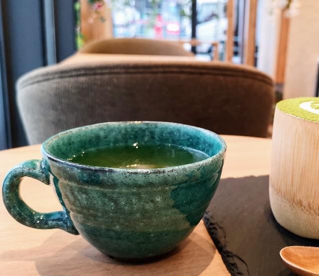東京都淡路町・カフェ「大三萬年堂HANARE」レモン煎茶