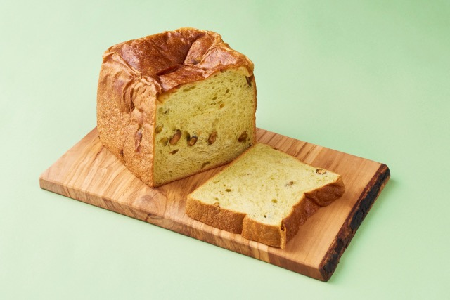 ピスタチオ食パン〜グリーンの霹靂〜