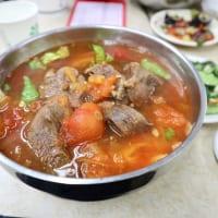 トマト牛肉麺