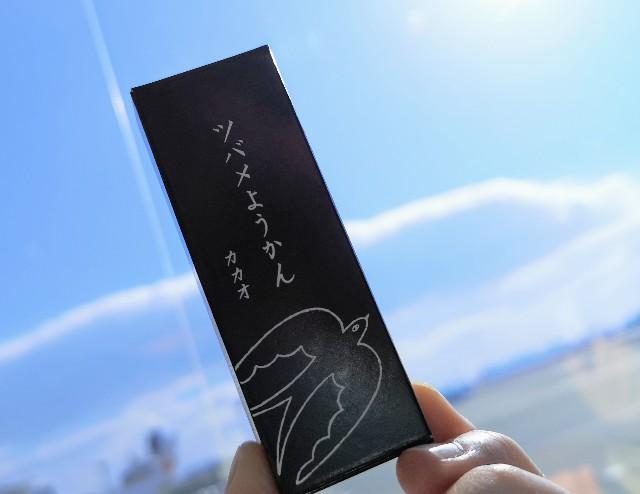愛知県名古屋市・和菓子屋「ツバメヤ 大名古屋ビルヂング店」ツバメようかんカカオと空