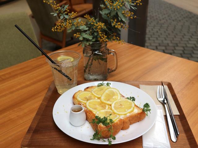 ハニーレモン&チーズクリームフレンチトースト