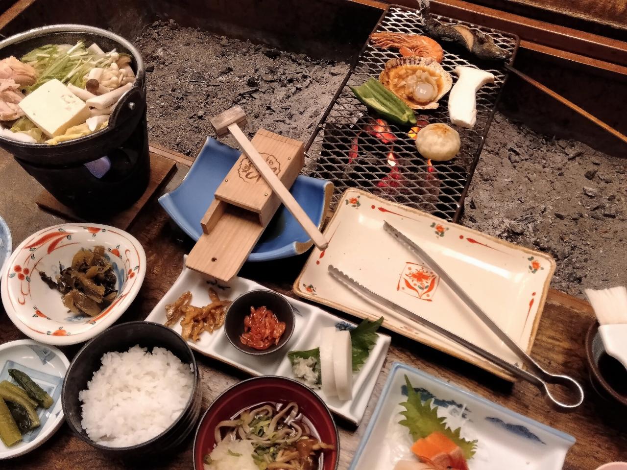 囲炉裏料理と天空温泉が1泊2食6600円で楽しめる高原の温泉宿に泊まってみた【いろりの宿  蓼科パークホテル】