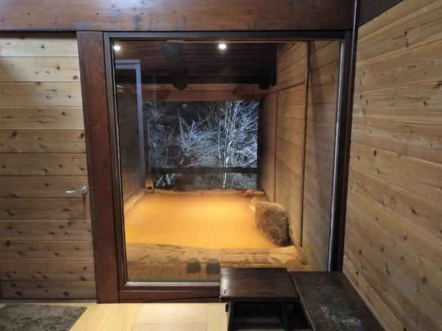 横谷温泉旅館貸切露天風呂