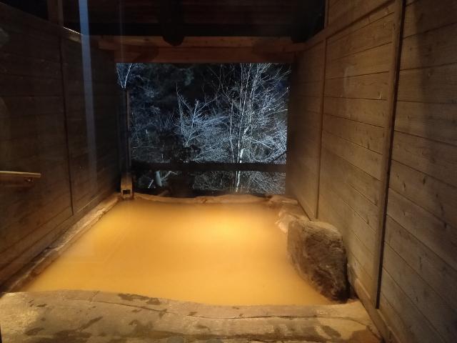 横谷温泉旅館貸切露天風呂2