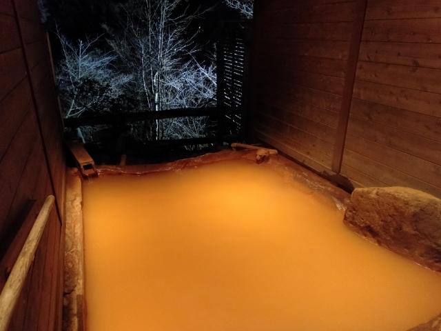 横谷温泉旅館貸切露天風呂3