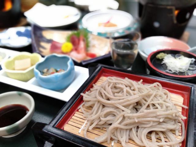 横谷温泉旅館夕食2