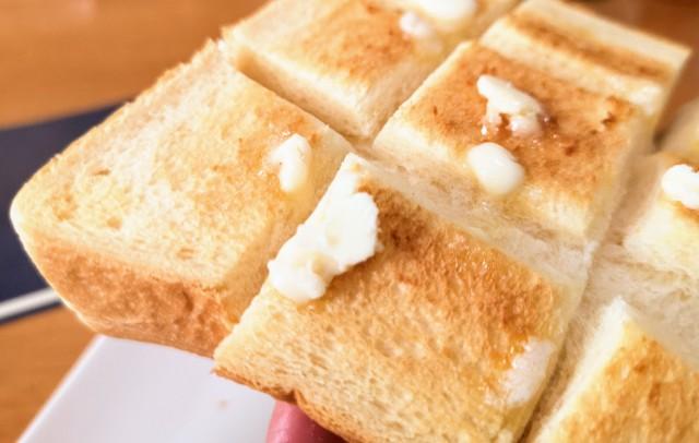 愛知県名古屋市・名古屋駅「本間製パン名駅直売店」本食のトースト