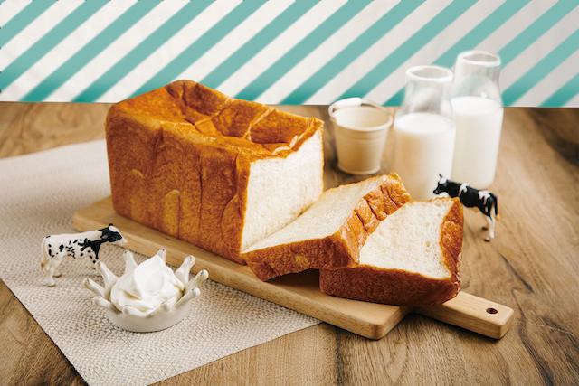ミルクの生クリーム食パン