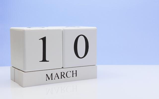 3月10日