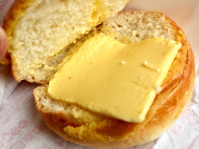 バターがたっぷり