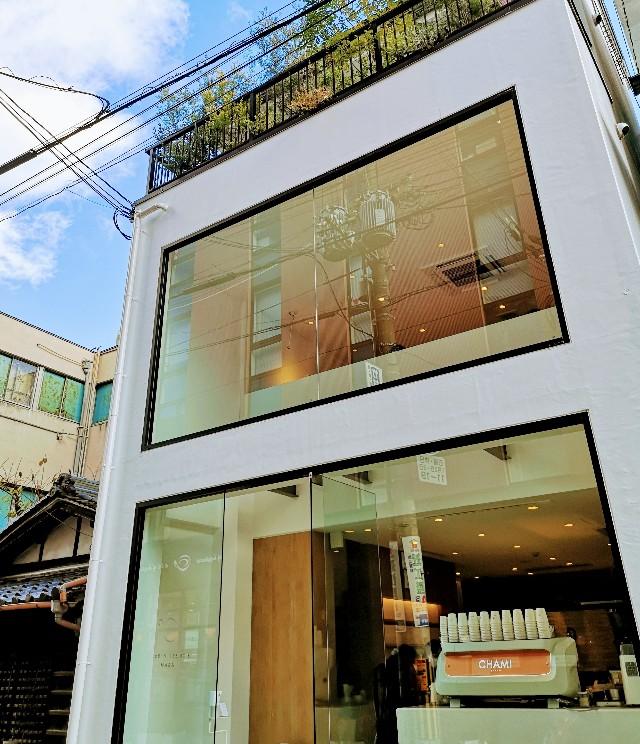 奈良県奈良市・カフェ「CHAMI」外観