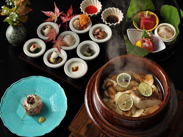 界 鬼怒川の料理