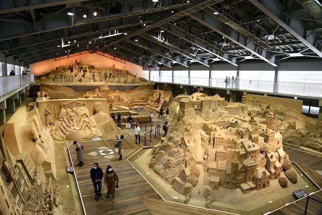 砂の美術館 チェコスロバキア