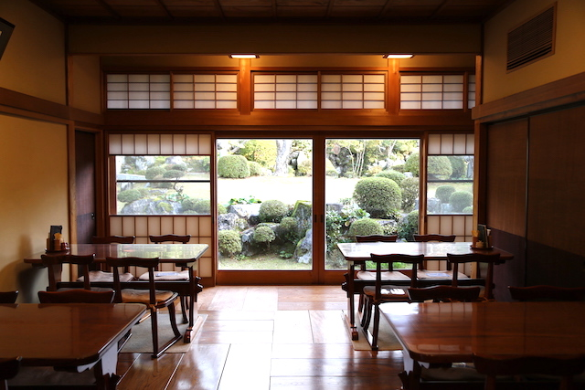 石谷家住宅 カフェ
