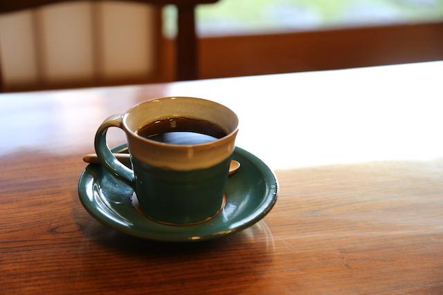 石谷家住宅 コーヒー
