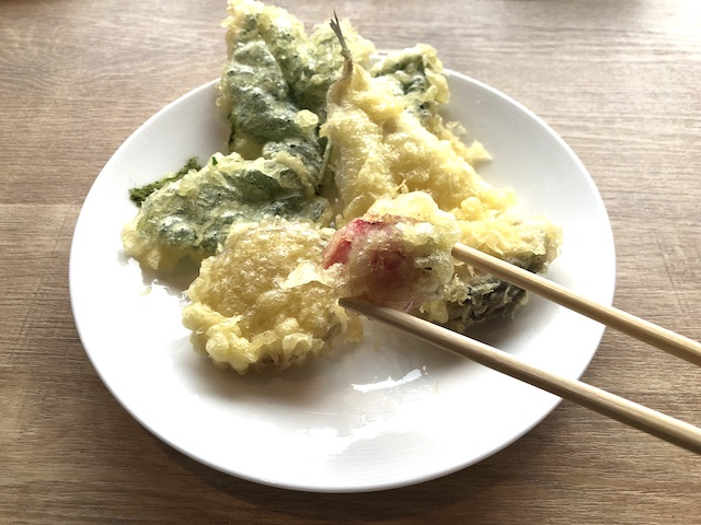 いちご 天ぷら