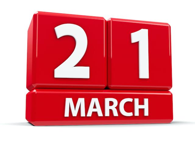 3月21日