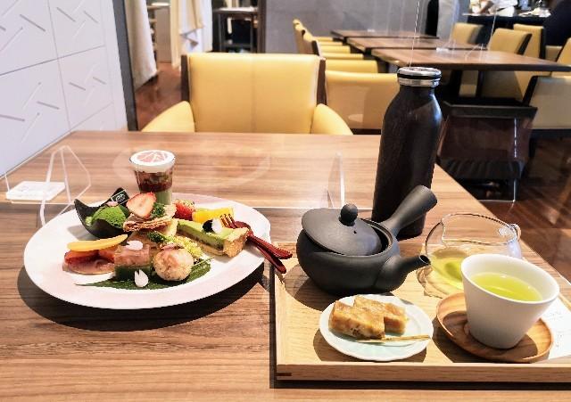 東京・御茶ノ水カフェ「RESTAURANT 1899 OCHANOMIZU(レストラン 1899 お茶の水)」1899アフタヌーンティープレート、1899六煎茶