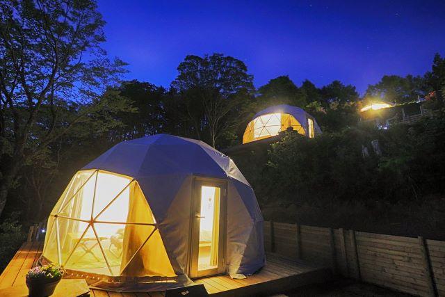 杓子山ゲートウェイキャンプ ドームテント