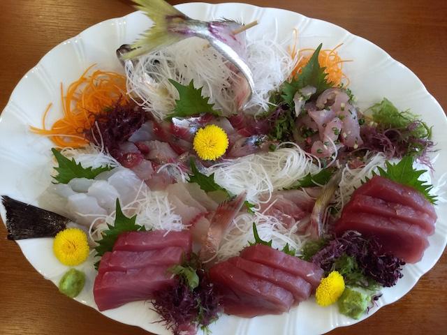 釣った魚調理例