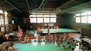 酸ヶ湯温泉 ヒバ千人風呂3