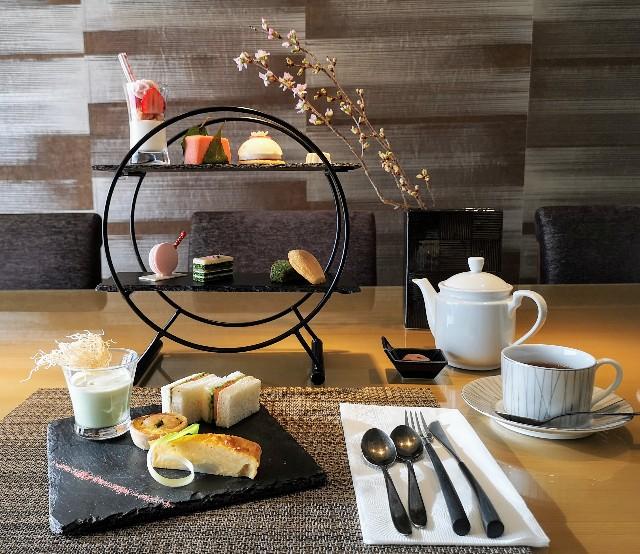 東京・目黒「ホテル雅叙園東京」さくらアフタヌーンティー(さくらの紅茶付)