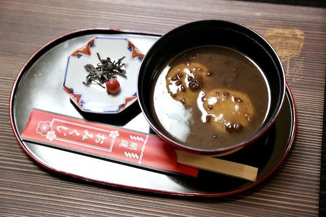 鳥取 雑煮 小豆