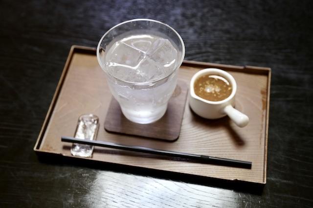 寺カフェ りんつ ジンジャーエール