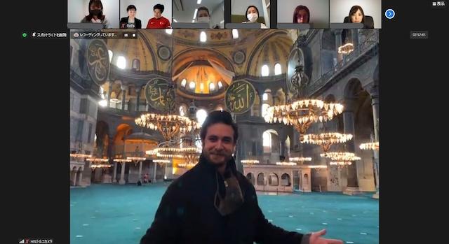 トルコ・アヤソフィアモスク