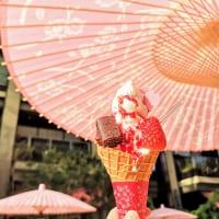 東京・日本橋「ISHIYA NIHONBASHI」春のストロベリーサンデーと花見ベンチ